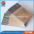 Custom kraft paper notebook handmade paper notebook school notebook
