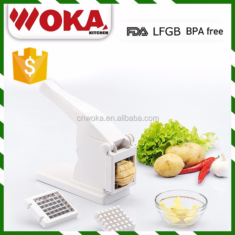 kitchen assistant Stainless Steel Potato Chopper manual Vegetable Chopper