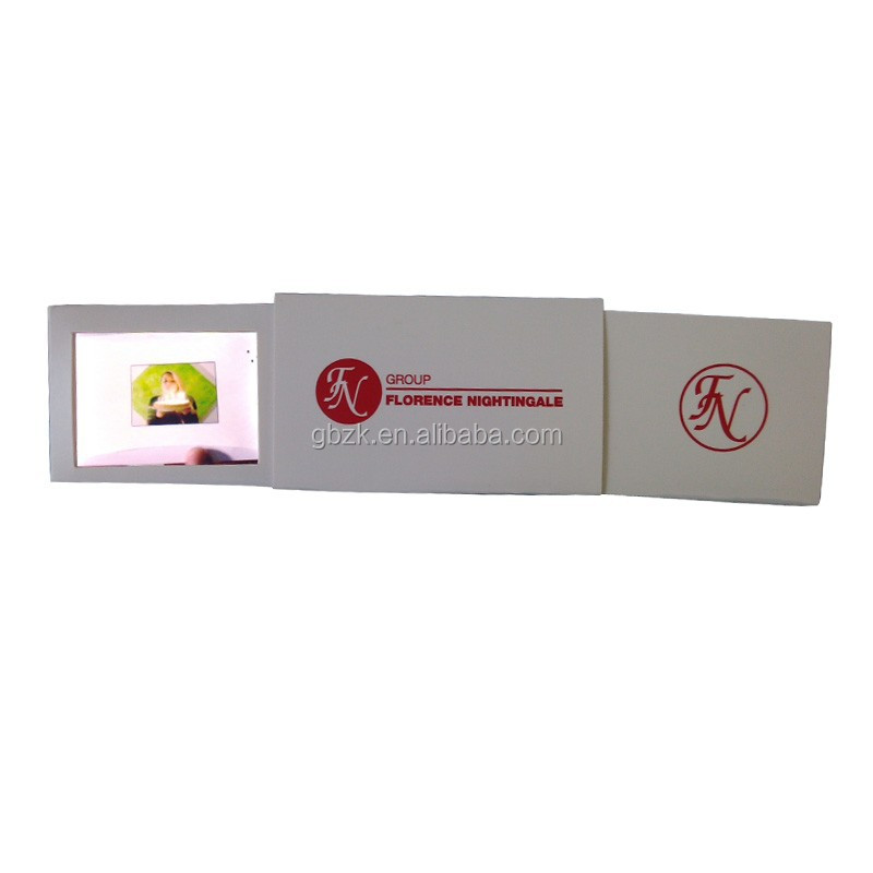 Mini business video name card/2.4inch video card