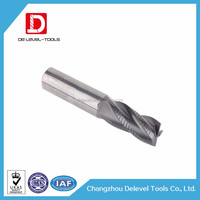 Delevel-3 Edged Roughing Wave Flute CNC Router Bit / CNC Machinery Wave Cutting Blade Cutter From Supplier