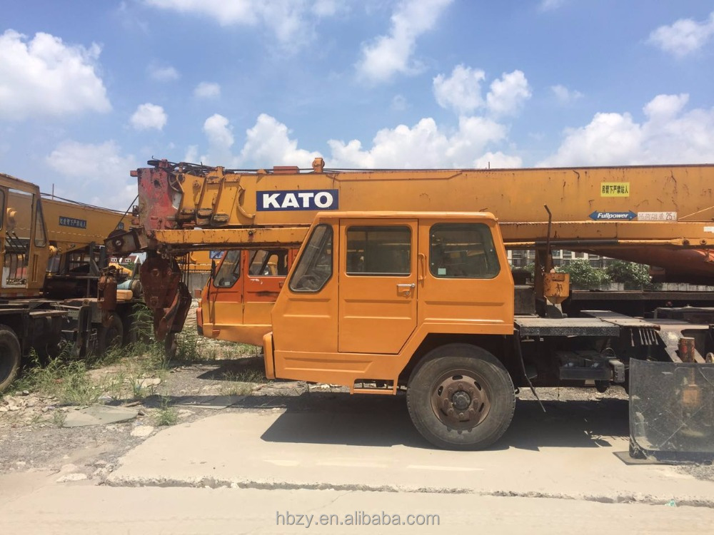 Cheap Price Second-hand Used Japan Kato 25 ton NK250 Truck Crane for sale