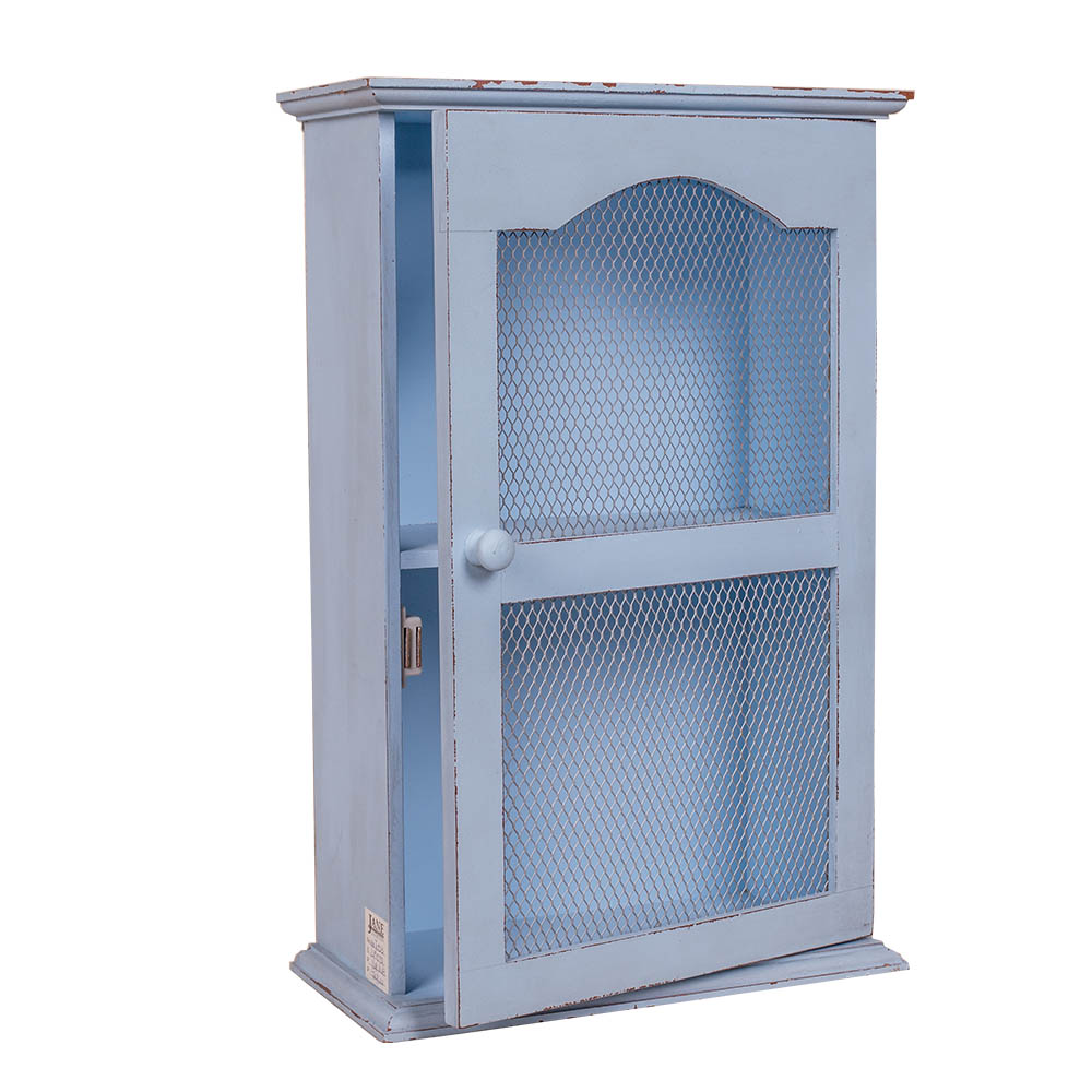 140JC523-Wholesale design Modern wood side cabinet design 2 layers Wooden Cabinet with glass door small cabinet with glass doors