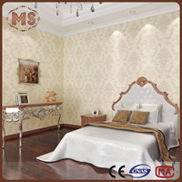 2016 home printing /decoration vinyl/pvc wallpaper cheap and beautiful for decorative