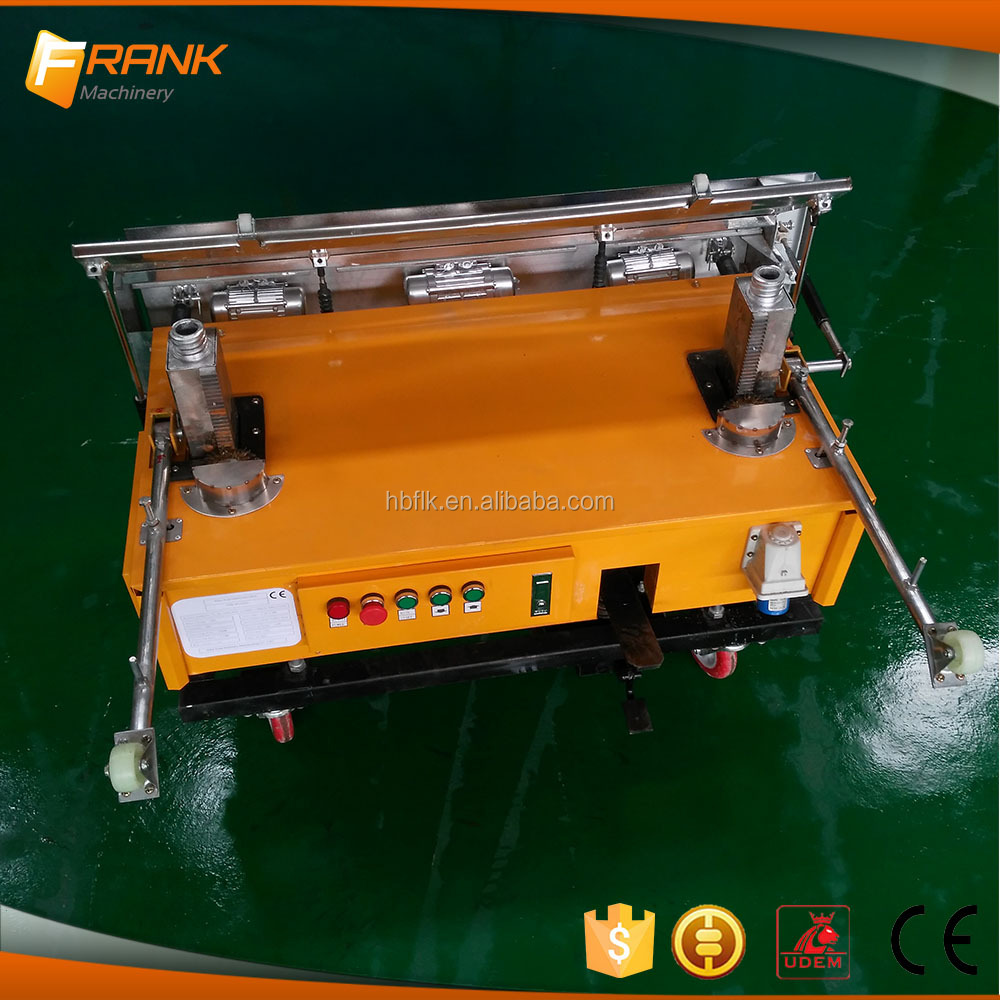 New type factory cheap price automatic wall plastering machine|render machine|auto rendering machinery