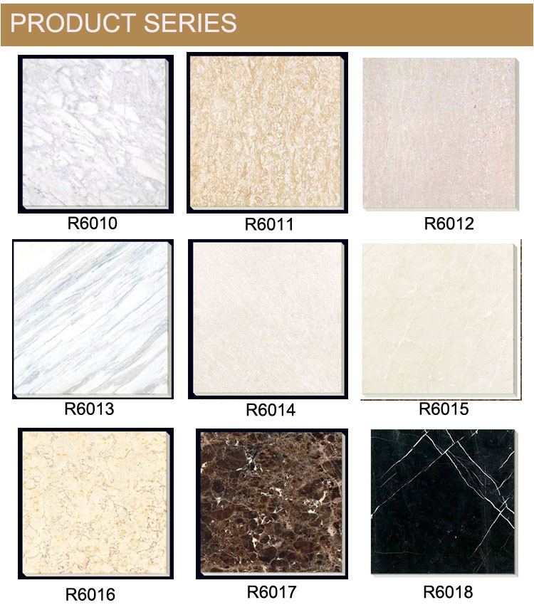 grade AAA composite marble floor tile chinese new design white marble tiles
