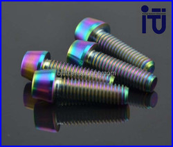 New promotion Titanium Chainring Bolts for MTB bike manufactured in China