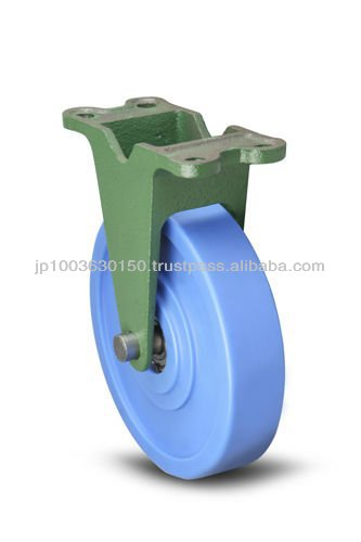 High quality Japanese products caster for 75mm polyurethane ball bearing wheel 200KMCB