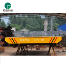 Large Capacity electrical low bed truck trailer for material transport