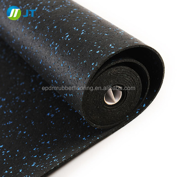 China supplier shock-reducing gym floor rubber rolls rubber mats