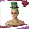 green paillette mini top hat with headband sale for girls