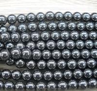 10 mm High Quality round gemstone jewelry natural Hematite Beads