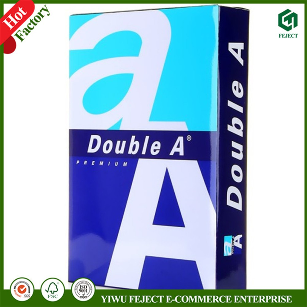 Office Stationery A4 Size Copier Paper 80GSM in Bulk Copy Paper A4 white color Inkjet/laser Printing Photocopy Paper