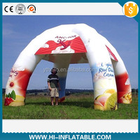 Custom made inflatable spider tent No. spt001 for advertising, events,sale