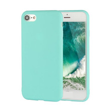 Hot selling Ultra Slim Thin Silicon case back cover For iPhone 7 8 X