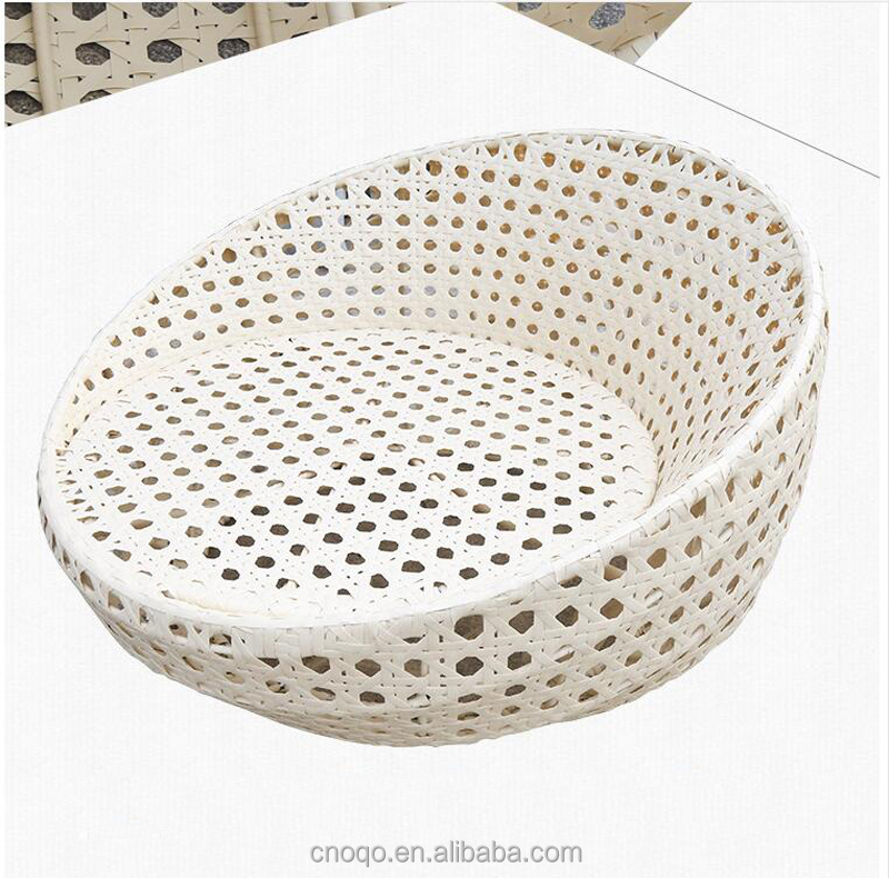 Top Popular Garden Furniture Wicker Day Bed / Big Lounge Outdoor Plastic Day Bed Rattan Beach Lounge Chair T570