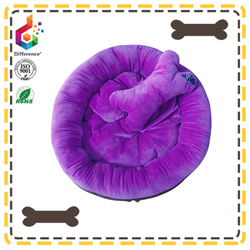 Comfortable sponge purple dog kennel
