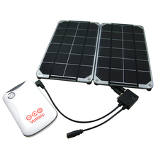 High quality flexible amorphous cell portable solar charger