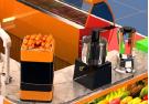 Best selling custom made creative 3D ice cream kiosk design
