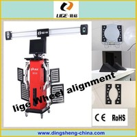 four wheelers alignment machine/car care and maintenance 3d wheel alignment
