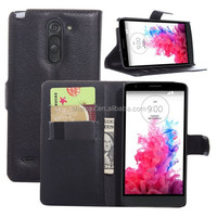 Manufacture Mobile Phone Slim Wallet For LG G3S Case