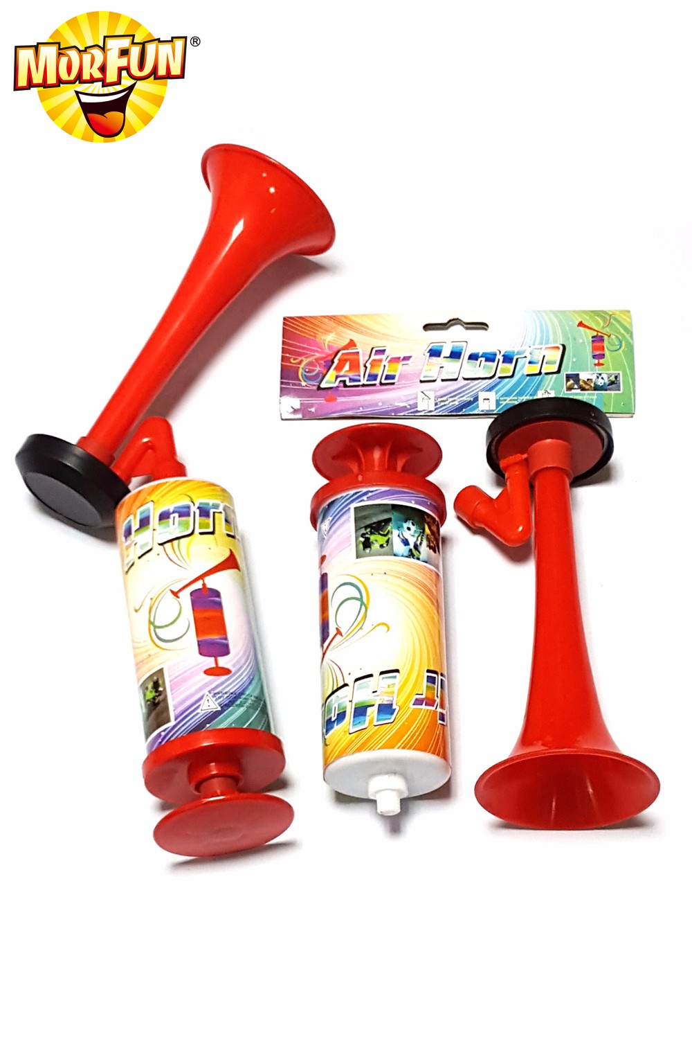 Finland Best Selling party decorations store football fans plastic horn hand pump horn