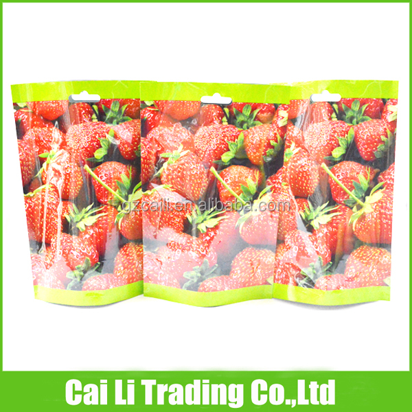 dry fruits packaging aluinum foil plastik standing pouch