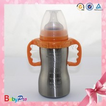 Hot sale promotion China manufacture stainless steel calf baby feeding bottle
