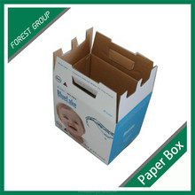 SAMPLE FREE TOP SALE FULL PRINTING CORRUGATED PAPER BOX FOR LIQUID