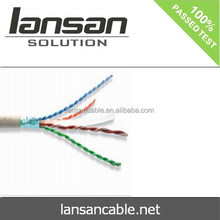 cat6 FTP shielded copper cable UL List passed Fluke Test