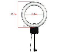 Photography Studio 40W 5400K Fluorescent Ring Lamp Light with Flexible Arm for Studio Lighting