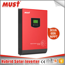 5KVA Solar Generator Inverters on off grid tie 5000va 4000w built-in MPPT solar charge controler