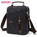 2018 new trendy products business messenger bag high end cotton canvas handbag on sale