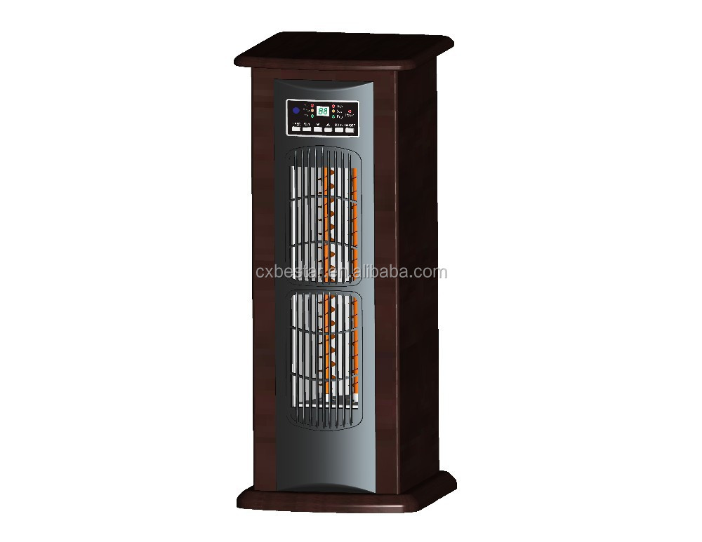 China 2015 New tower 1500W ELECTRIC infrared heater ETL W/Thermostat