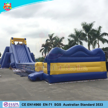 Largest adult size inflatable hippo water slide, Crazy slip n slide for adult
