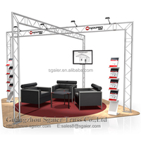 Truss exhibition stand display metal aluminum