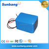 customized rechargeable lipo battery 36v 20ah for LED lights/ e bike/clearner