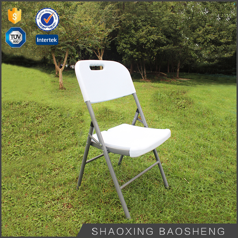 blow mold furniture outdoor and garden white plastic folding beach chair