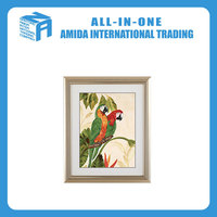 modern design parrot pattern hanging wall painting