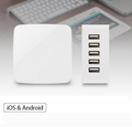 Output 40W 5V 8A 5USB Travel Charger For Cell Phone