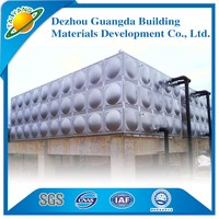 Dezhou Guangda best-sale square stainless steel water tank/building water tank