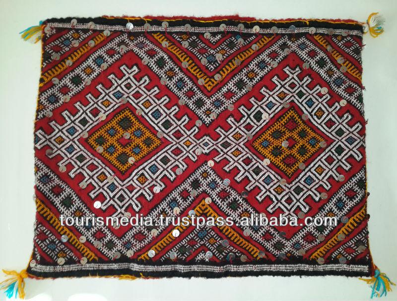 Berb re marocaine kilim housse de coussin 60 cm x 47 cm - Housse coussin marocain ...