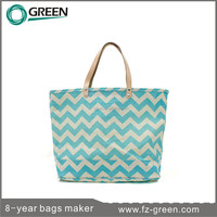 popular jute tote bags with leather handles for traveling & shopping