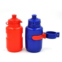 Small Colored Bpa Free and Food Safety Drinkware Type 350ml Squezze Water Bottle for Kids