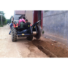 Hot sell CE certified agricultural machinery small trencher for tractor