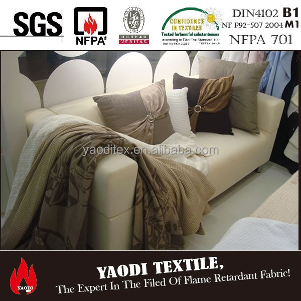 manufacturers waterproof fire resistant upholstery fabric germany