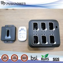 Taiwan Plastic injection molding parts case for desktop charging station with printing assembly