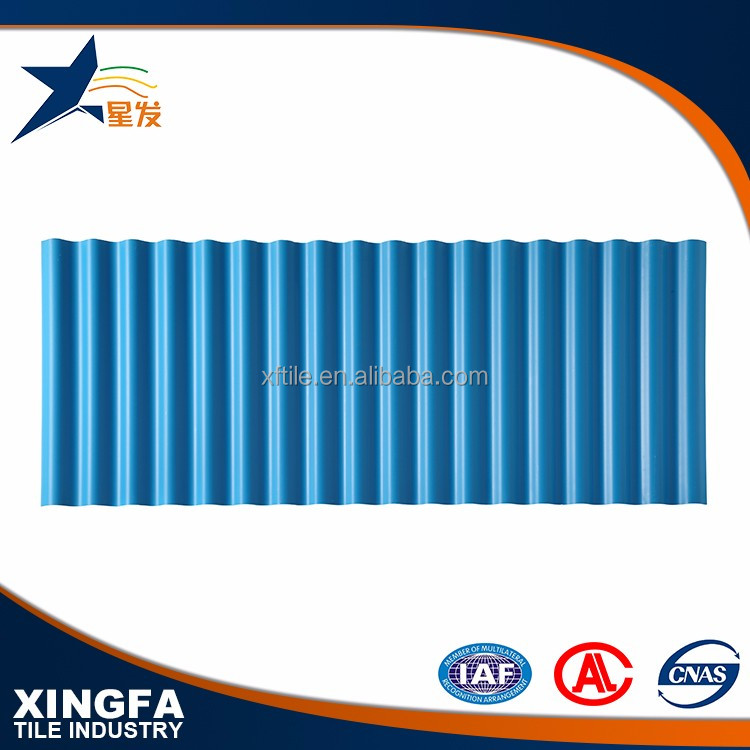 New arrival corrugated copper sheet asa pvc roofing tile
