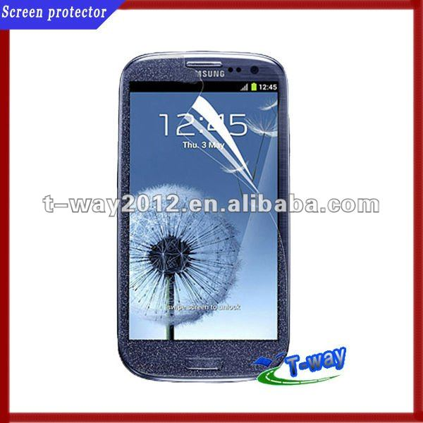 Hot selling diamond screen protector for galaxy s2