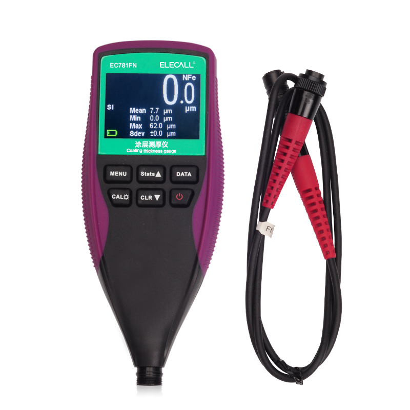 EC771N Digital Painting <strong>Thickness</strong> Meter Mini LCD Car Coating <strong>Thickness</strong> Gauge