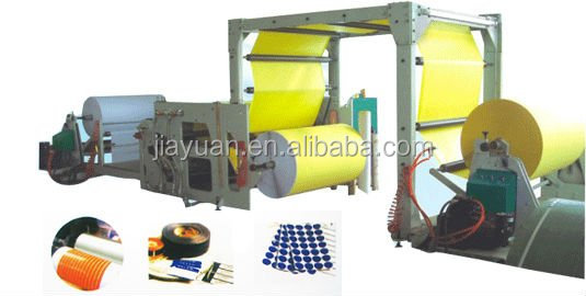 Machine for making Car tyre sticker hot melt adhesive coating machine